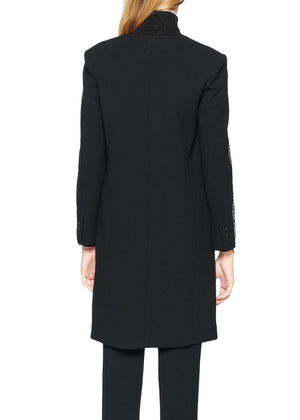 'Gothic Spire' V-Neck Coat - Women's Jackets & Coats - Libertine