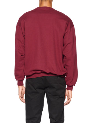 'Hearts' Crewneck Pullover Sweatshirt - Men's Tops - Libertine