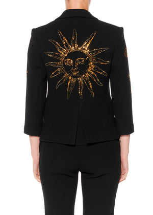"""SUN AND MOON"" BLAZER - Women's Jackets & Coats - Libertine"