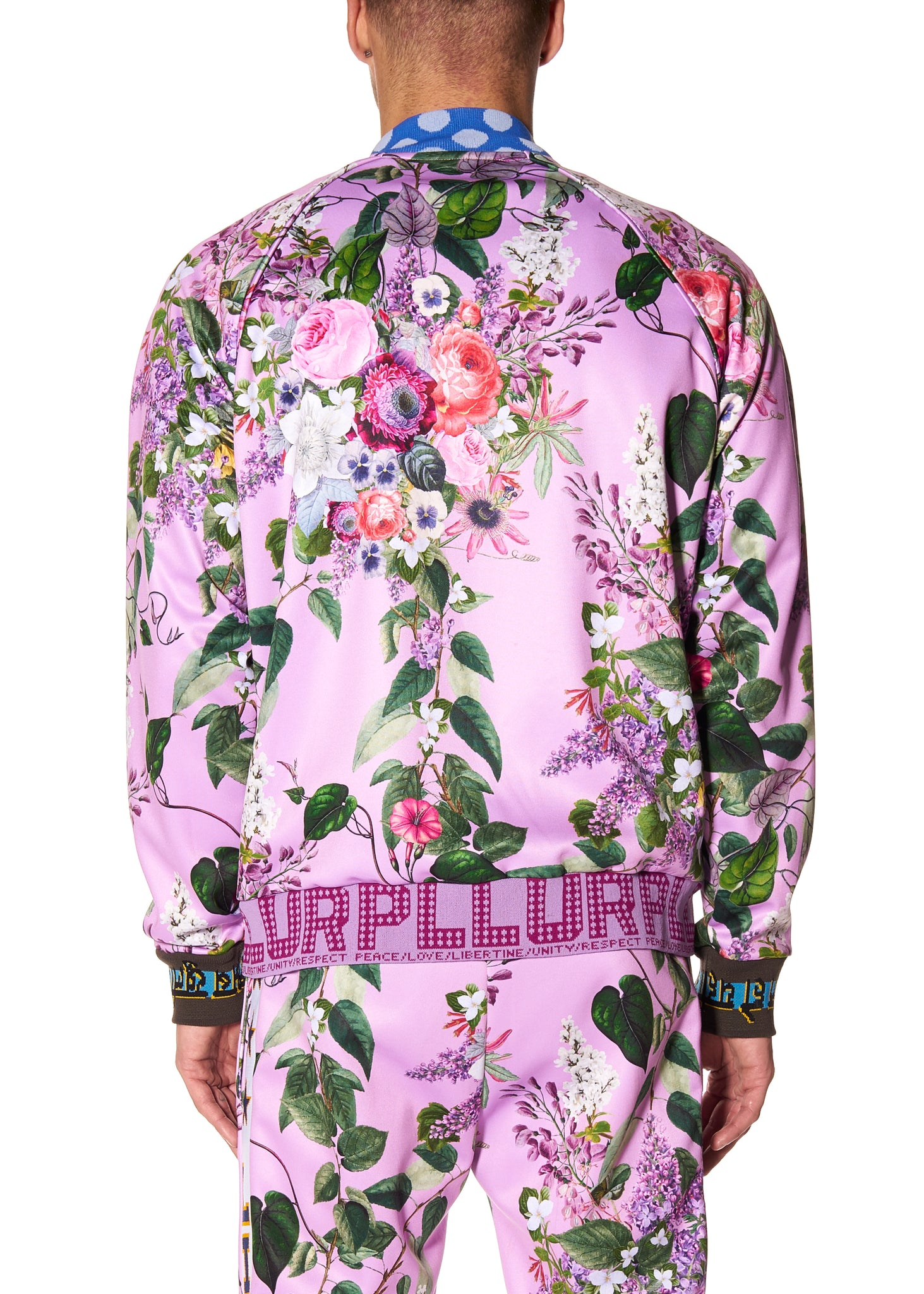 """HAMISH FLORAL"" TRACK JACKET - Men's Jackets & Coats - Libertine"