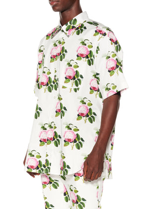 """English Garden"" Short Sleeve Classic Shirt - Men's Tops - Libertine"