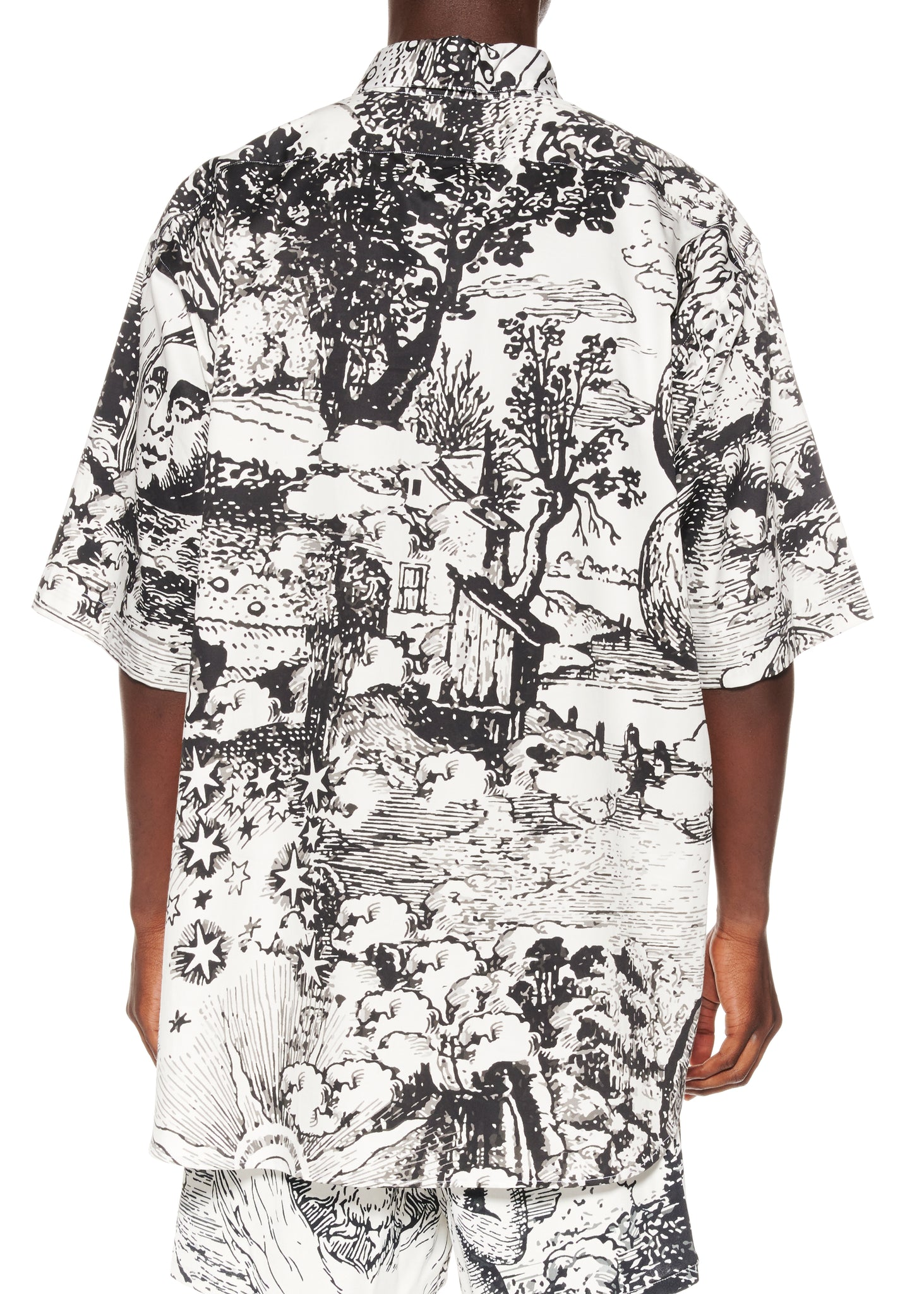 """MODERN TOILE"" SHORT SLEEVE CLASSIC SHIRT - Men's Tops - Libertine"