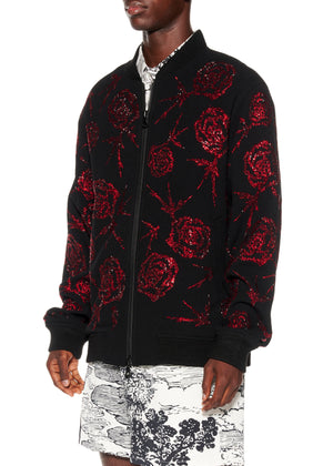 """STACIE ROSES"" BOMBER JACKET - Men's Jackets & Coats - Libertine"