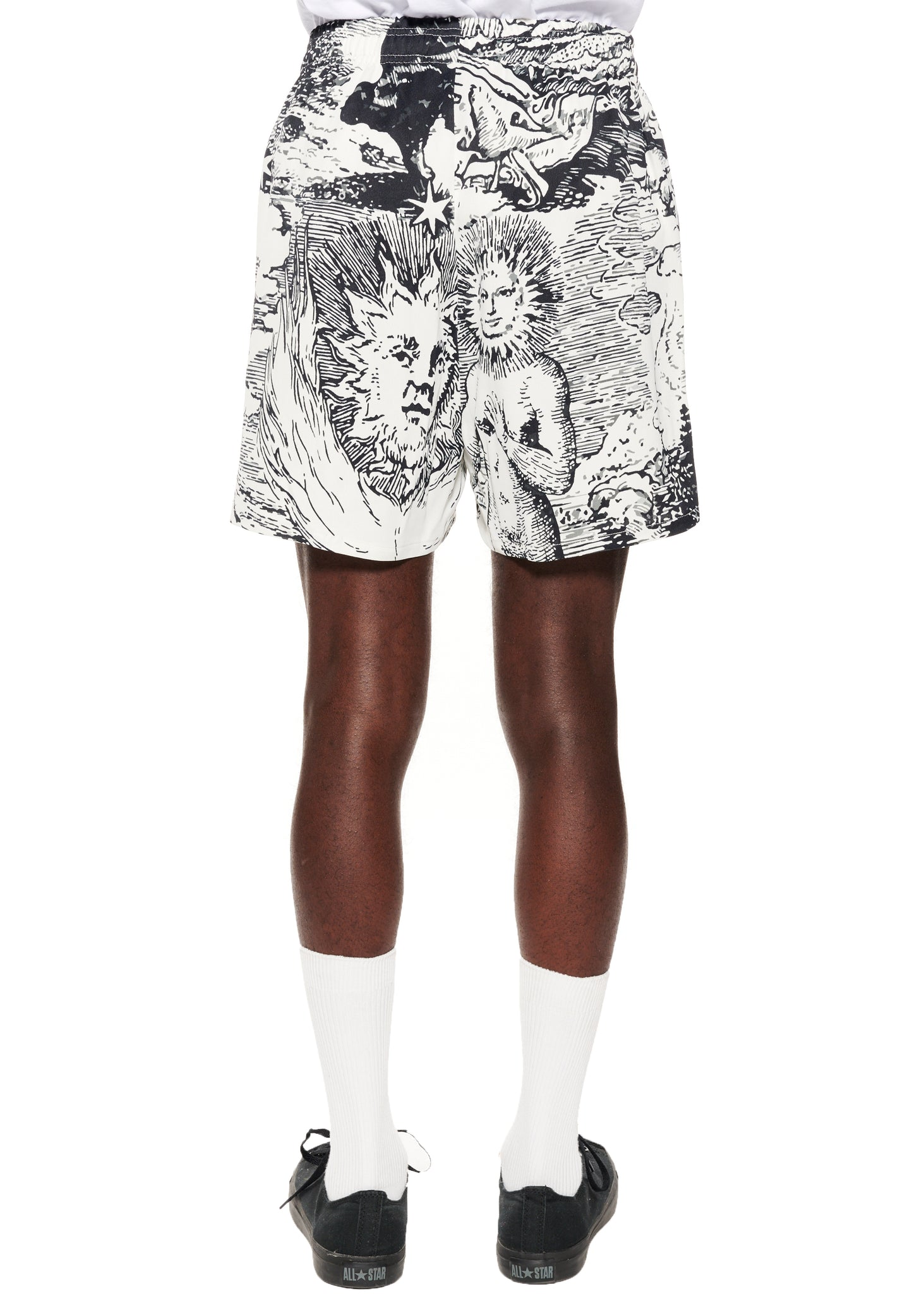 """Modern Toile"" Short Shorts - Men's Bottoms - Libertine"