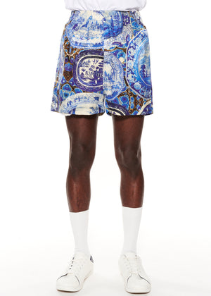 """Plates and Platters"" Short Shorts - Men's Bottoms - Libertine"