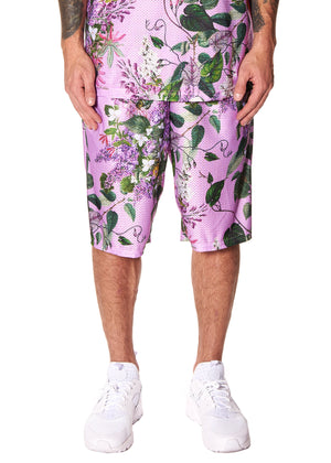 """HAMISH FLORAL"" MESH SHORT - Men's Bottom's - Libertine"