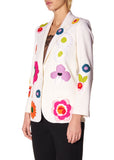 """POP FLOWERS"" LONG BLAZER - Women's Jackets & Coats - Libertine"