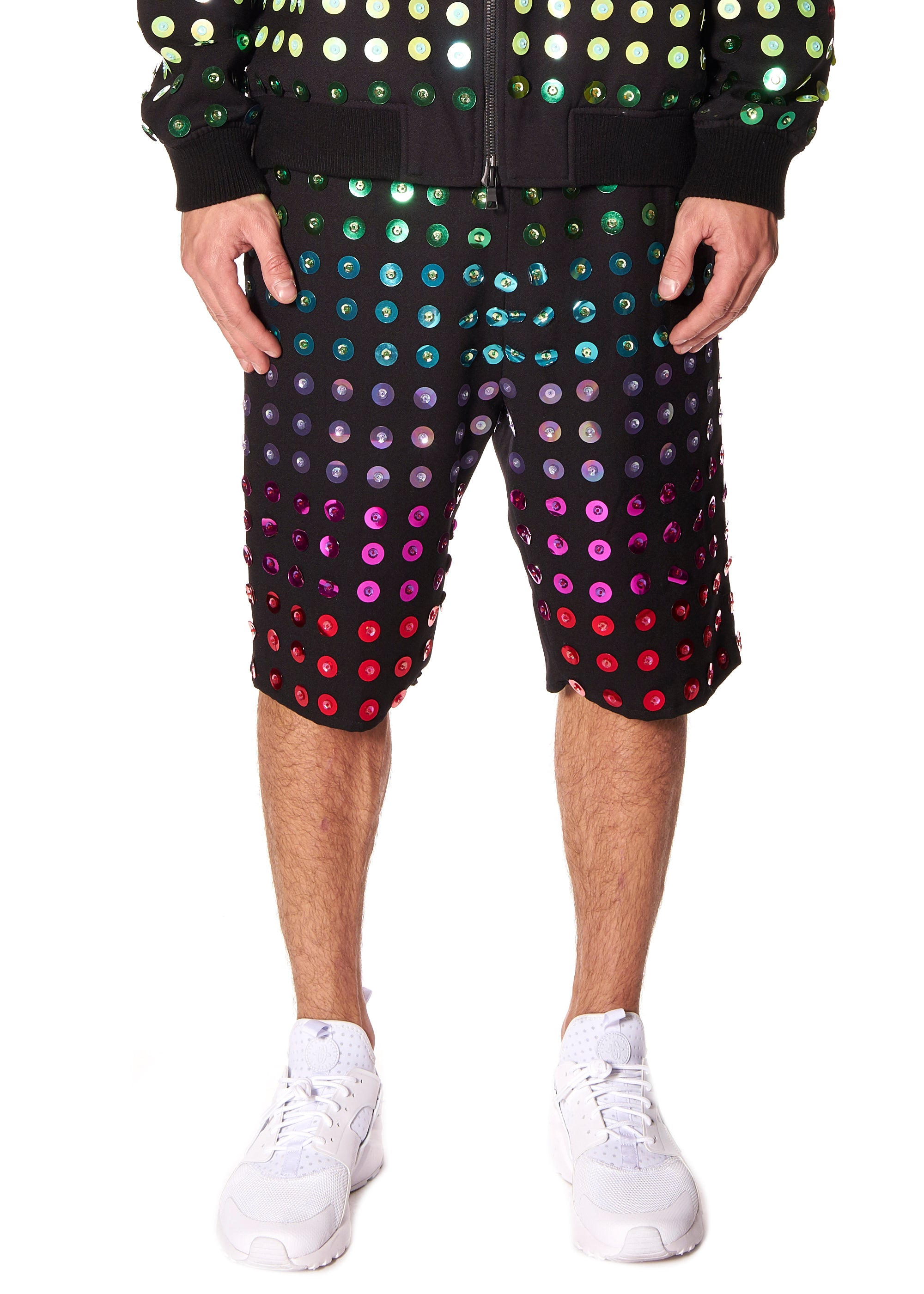 RAINBOW PAILETTE SHORT - Men's Bottom's - Libertine