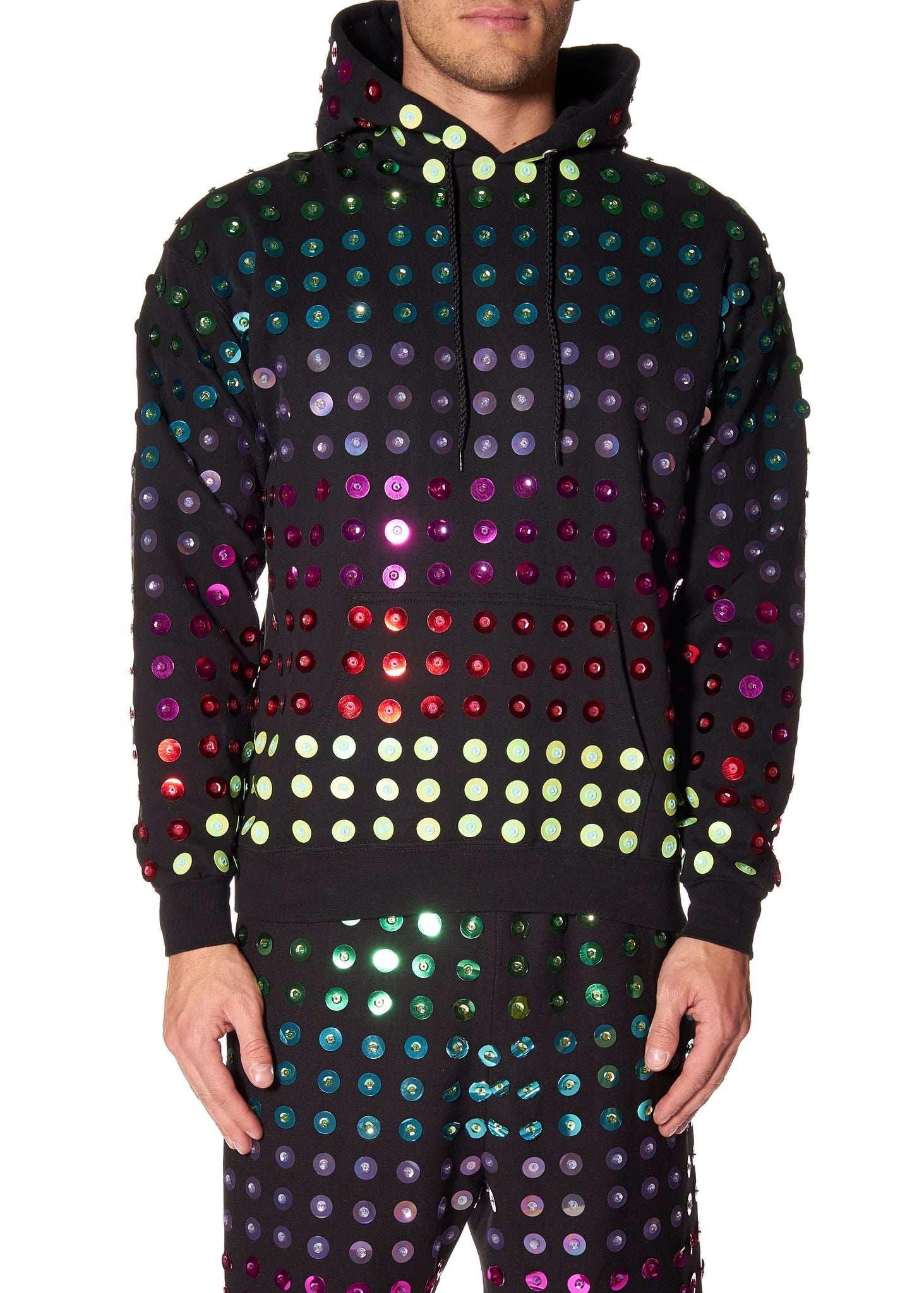 """ELECTRIC AVENUE"" HOODED SWEATSHIRT - Men's Tops - Libertine"