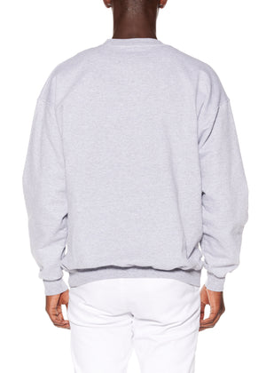 """HAPPY ENDING"" CREWNECK SWEATSHIRT - Men's Tops - Libertine"