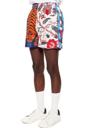 """Prince of Chintz"" Short Shorts - Men's Bottoms - Libertine"