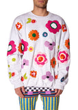 """POP FLOWERS"" CREWNECK SWEATSHIRT - Men's Tops - Libertine"