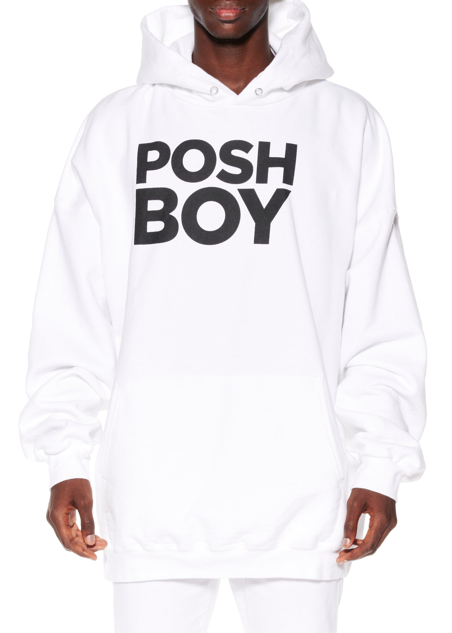 """POSH BOY"" HOODED SWEATSHIRT - Men's Tops - Libertine"