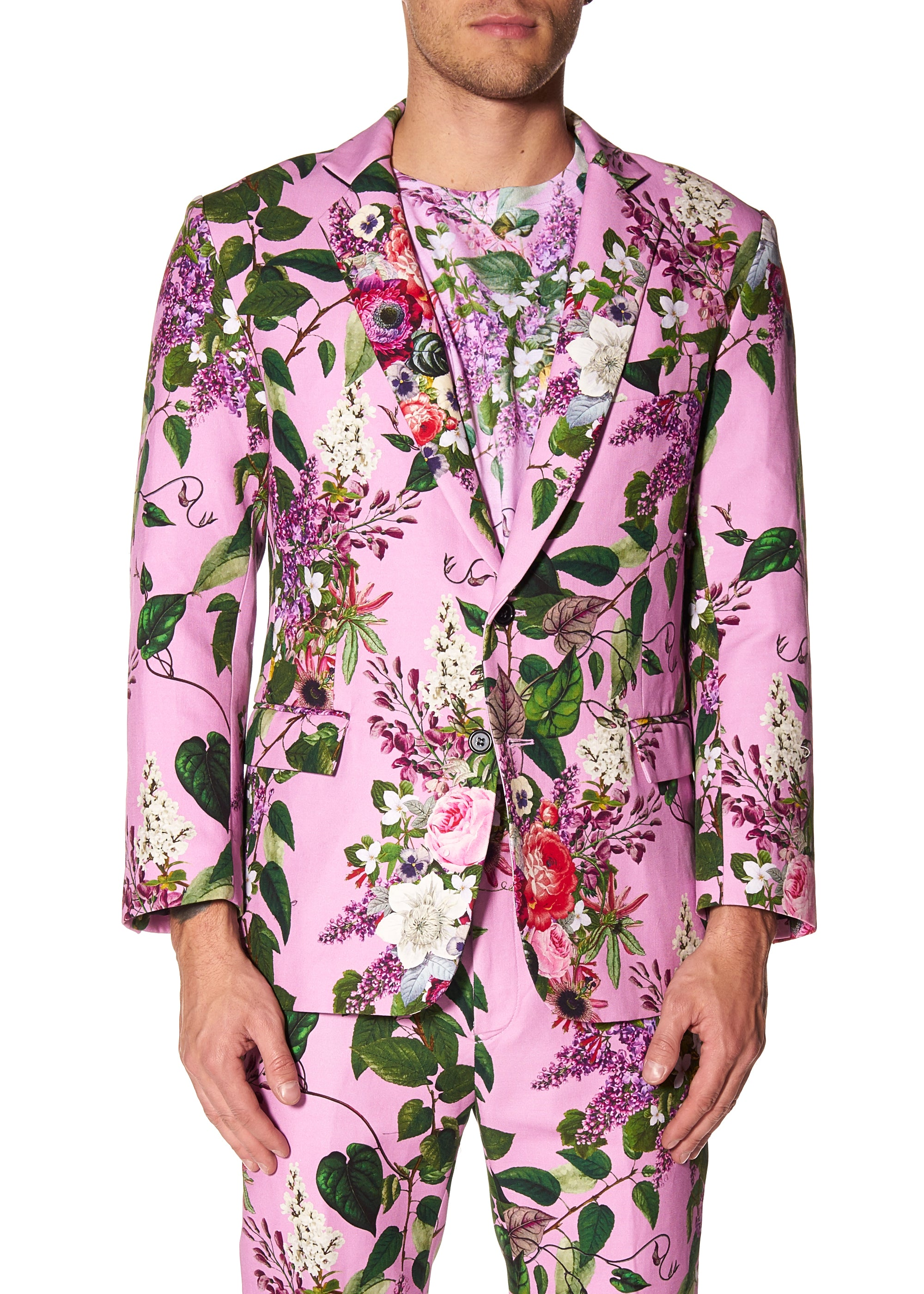 """HAMISH FLORAL"" SUIT JACKET - Men's Jackets & Coats - Libertine"