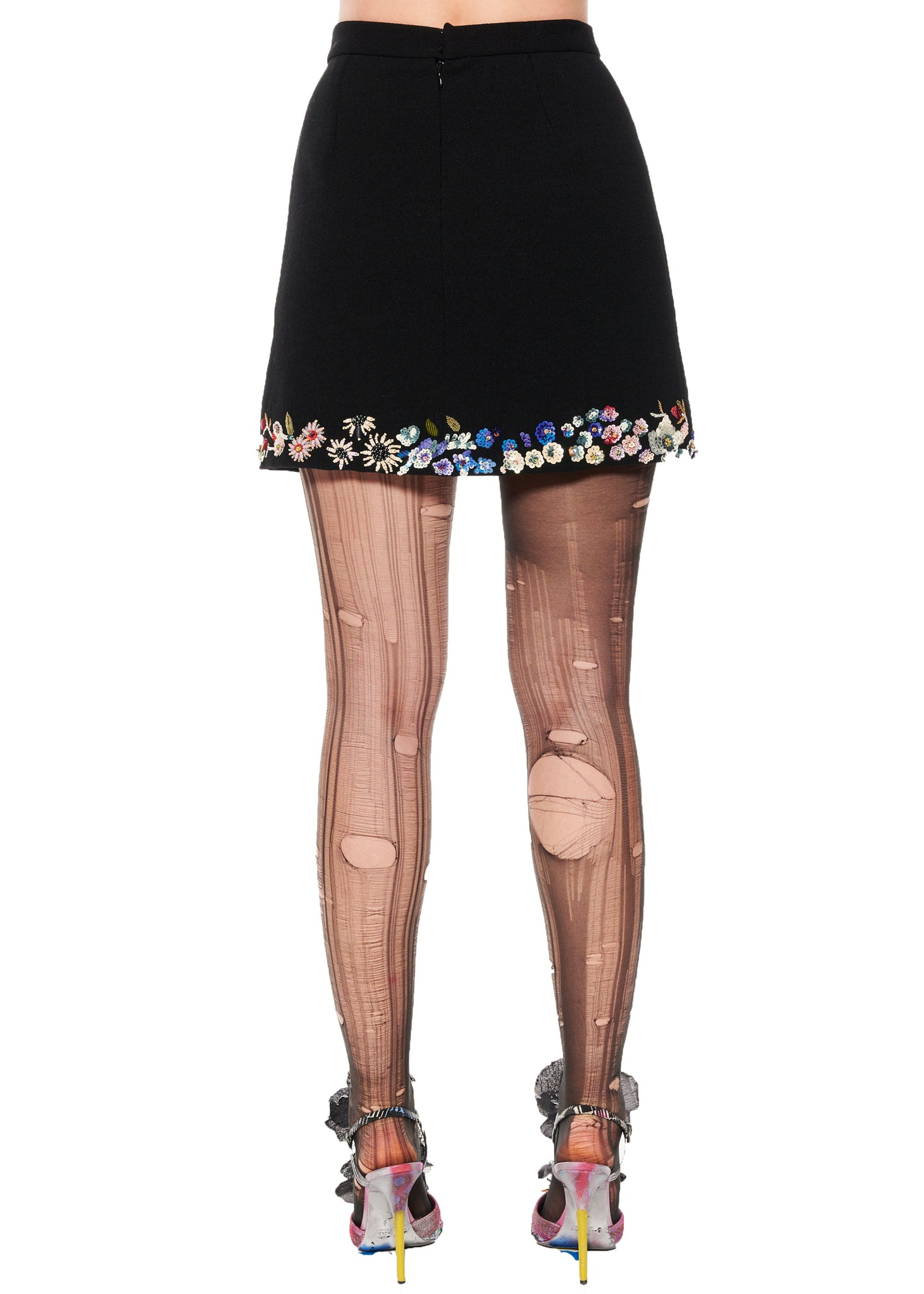 """EDITH PIAF"" MINI SKIRT - Women's Bottoms - Libertine"