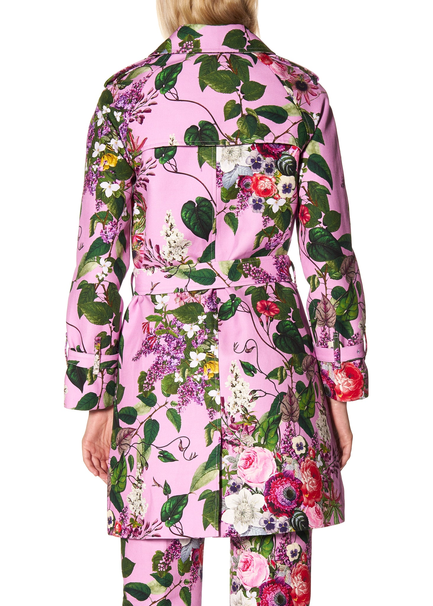 'HAMISH FLORAL' TRENCH COAT - Women's Jackets & Coats - Libertine