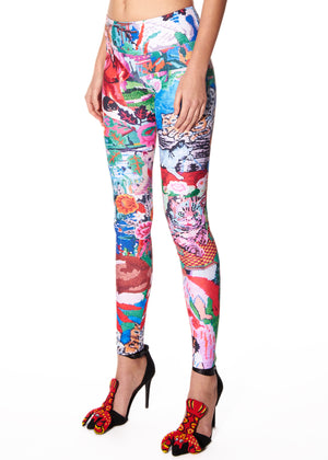 """TAPESTRY"" LEGGINGS - Women's Bottoms - Libertine"