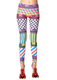 """GEOMETRIC"" LEGGINGS - Women's Bottoms - Libertine"