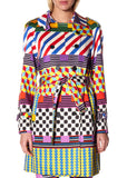 """GEOMETRIC"" TRENCH COAT - Women's Jackets & Coats - Libertine"