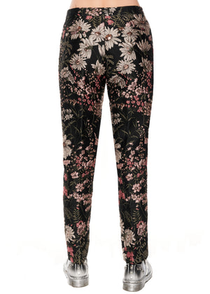 """Dark Garden"" Narrow Pants - Women's Bottoms - Libertine"