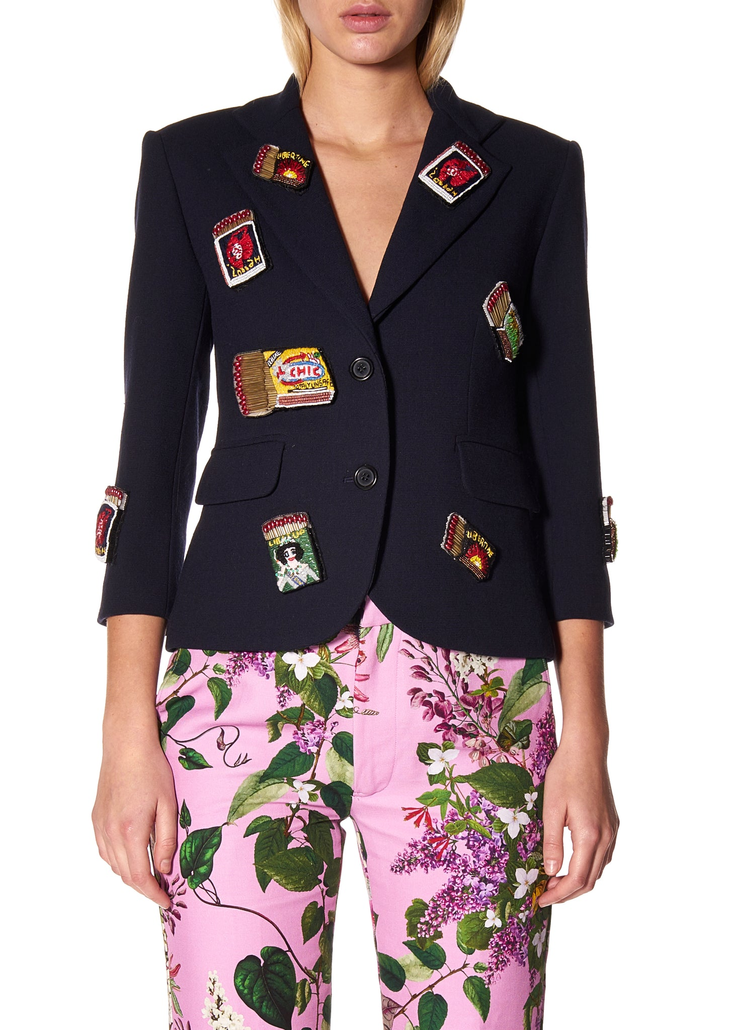 """MATCHBOOK MADNESS"" BLAZER - Women's Jackets & Coats - Libertine"
