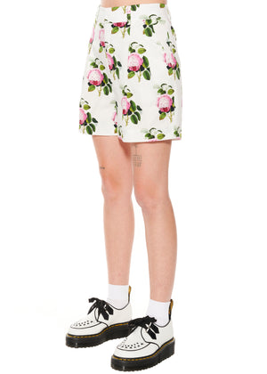 """English Garden"" Pleated Shorts - Women's Bottoms - Libertine"