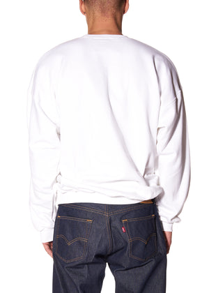 """SMOKING BABY"" CREWNECK SWEATSHIRT - Men's Tops - Libertine"