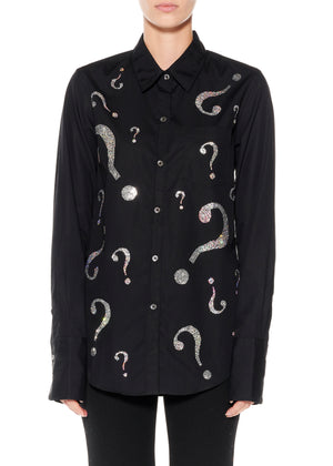 """WHO'S THAT GIRL"" Classic Shirt - Women's Tops - Libertine"