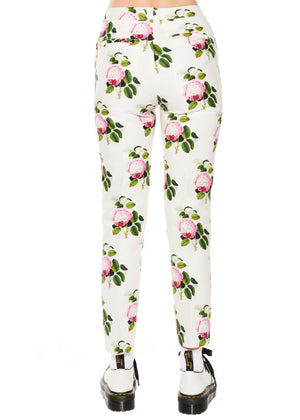 """English Garden"" Narrow Pants - Women's Bottoms - Libertine"