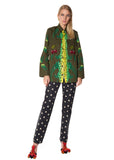 """CHERRY JUBILEE"" ARMY JACKET - Women's Jackets & Coats - Libertine"