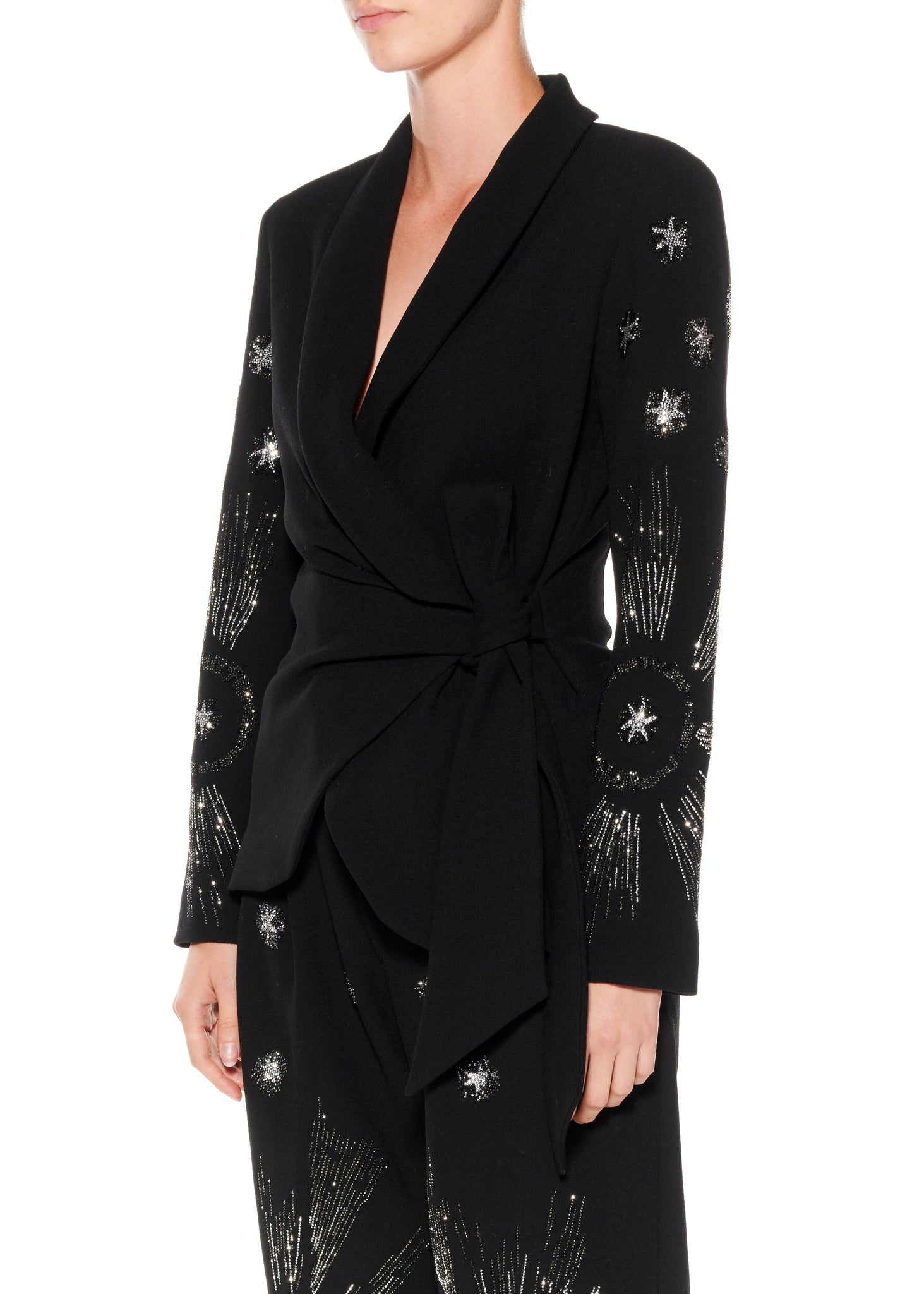 """STARS"" WRAP JACKET - Women's Jackets & Coats - Libertine"