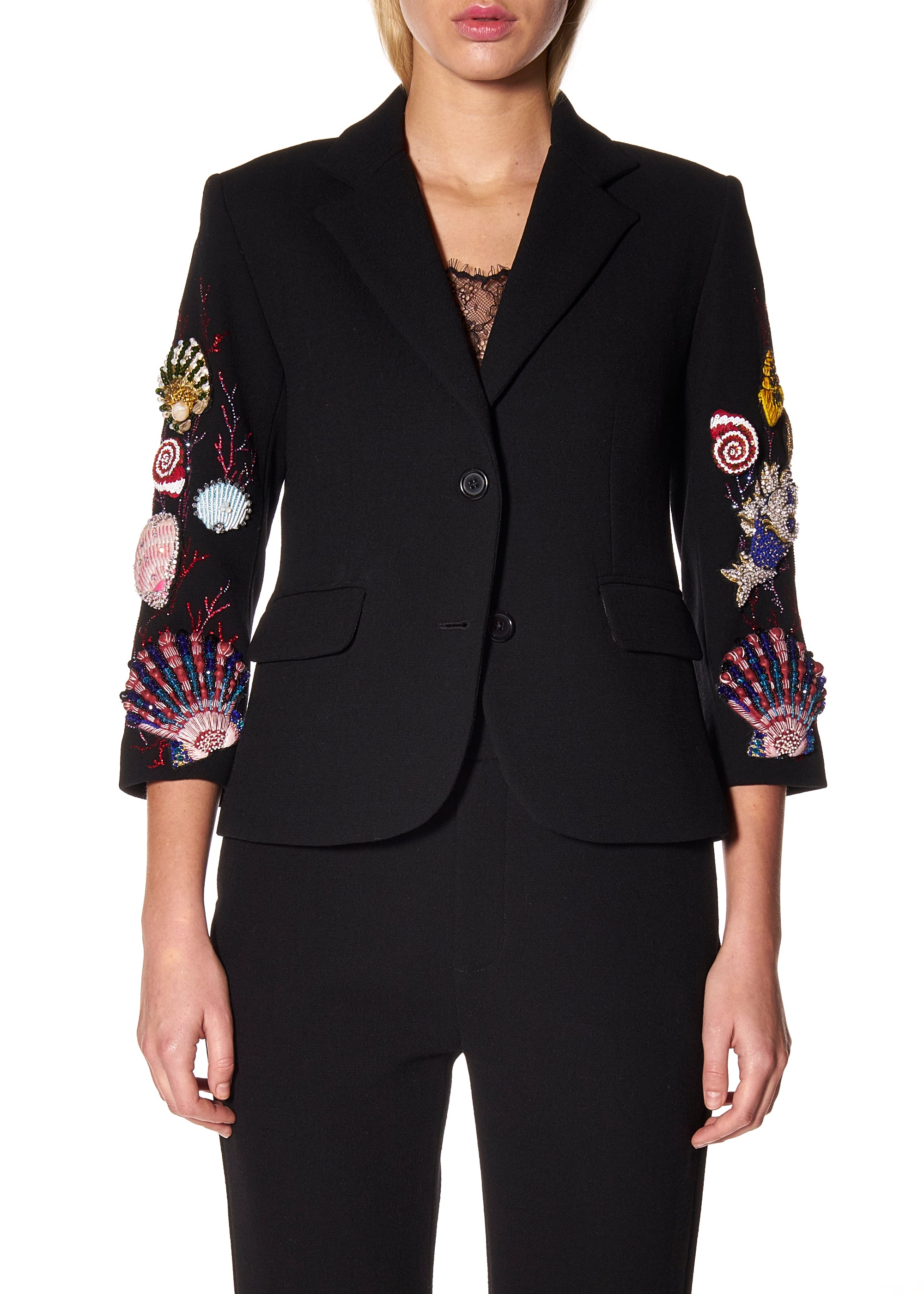 """SEASHELLS"" BLAZER - Women's Jackets & Coats - Libertine"