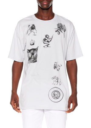 SCREEN PRINTED T-SHIRT - Men's Tops - Libertine