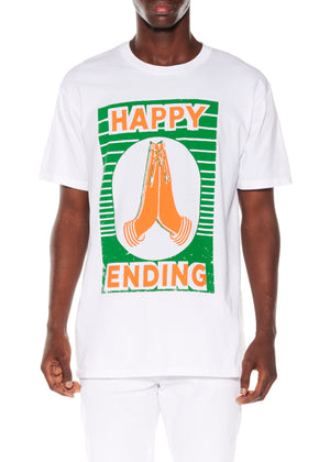 """HAPPY ENDING"" T-SHIRT - Men's Tops - Libertine"