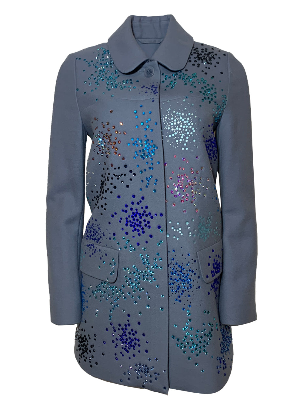 BLUE MO' MONET MO' PROBLEMS VINTAGE COAT - One of a Kinds - Libertine