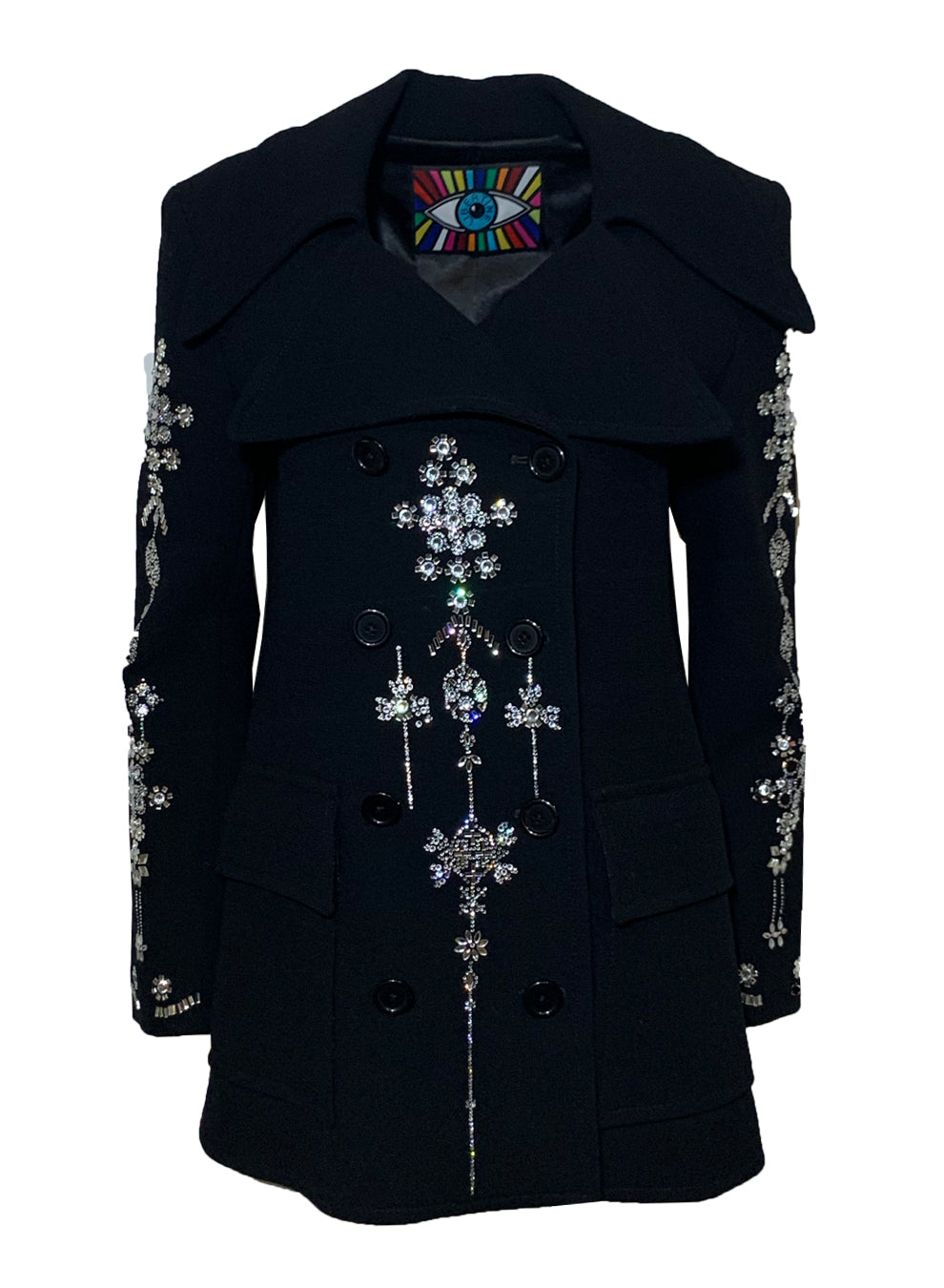 'CHANDELIER' PEACOAT - One of a Kinds - Libertine