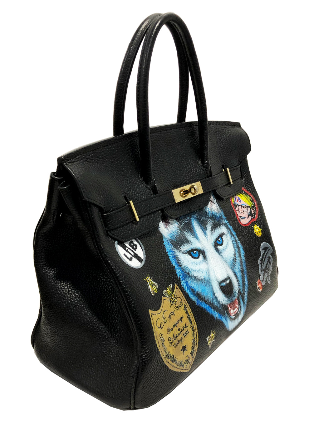 STREET BIRKIN BAG WITH LIBERTINE PAINTINGS - Web Exclusives - Libertine