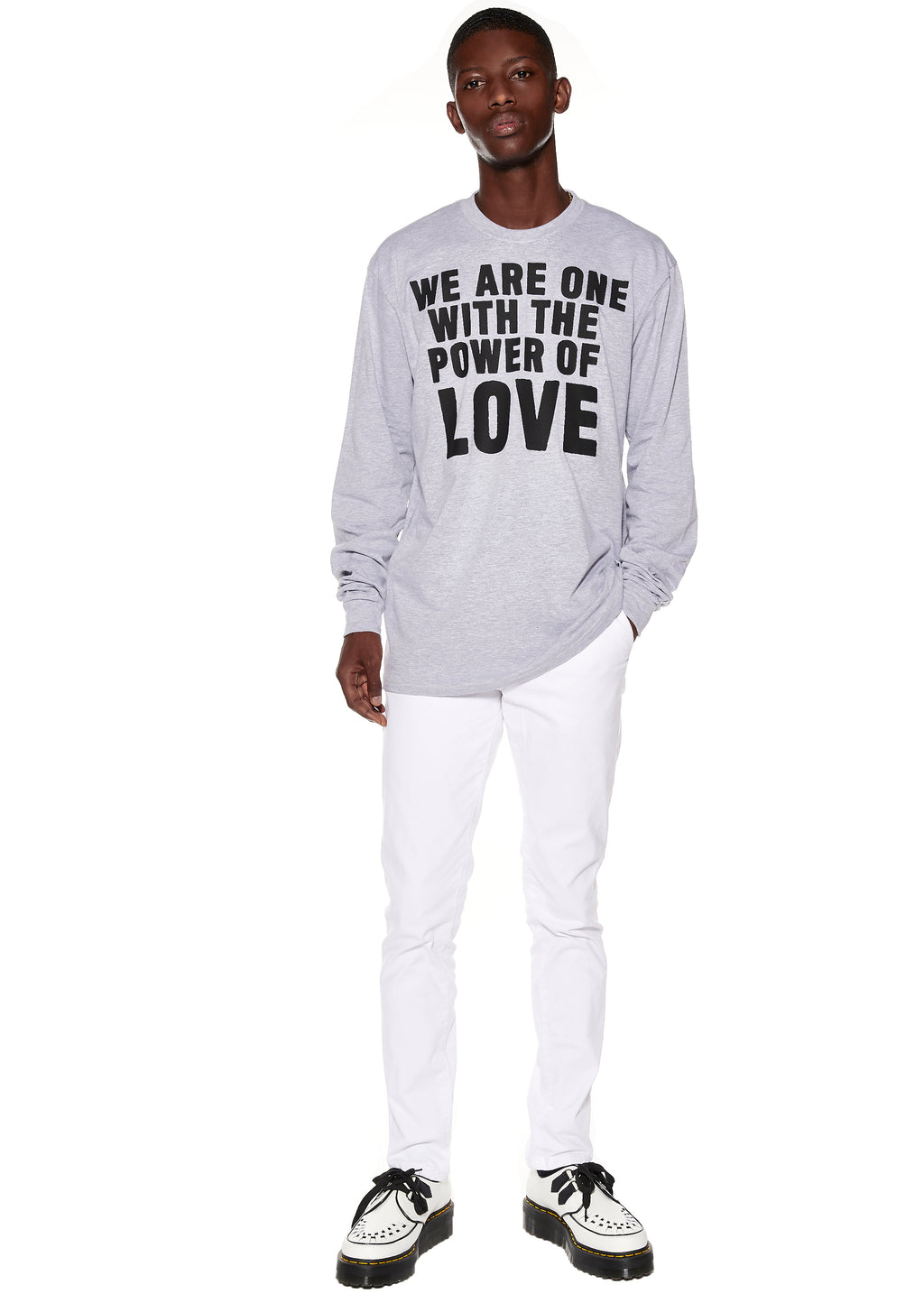 """POWER OF LOVE"" LONG SLEEVE T-SHIRT - Men's Tops - Libertine"