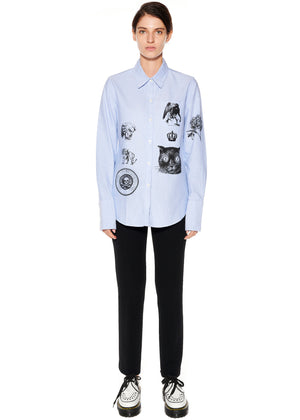 """LIBERTINE SCREEN PRINTS"" CLASSIC SHIRT - Women's Tops - Libertine"