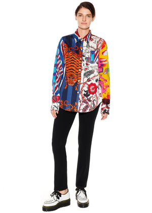 """Prince of Chintz"" Classic Shirt - Women's Tops - Libertine"