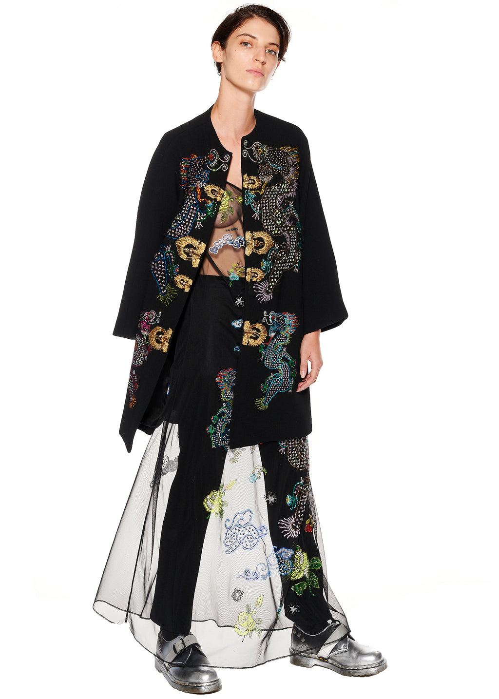 """MAGICAL MING DRAGON"" OPERA COAT - Women's Jackets & Coats - Libertine"