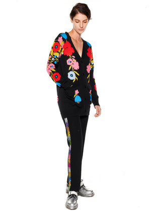 """The World Smiles in Flowers"" Cardigan - Women's Knits - Libertine"