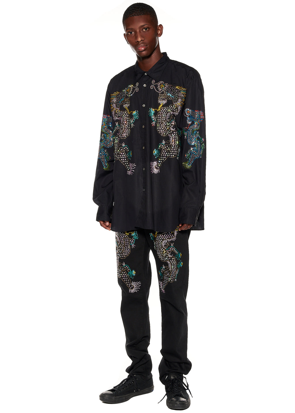 """Magical Ming Dragon"" Classic Shirt - Men's Tops - Libertine"