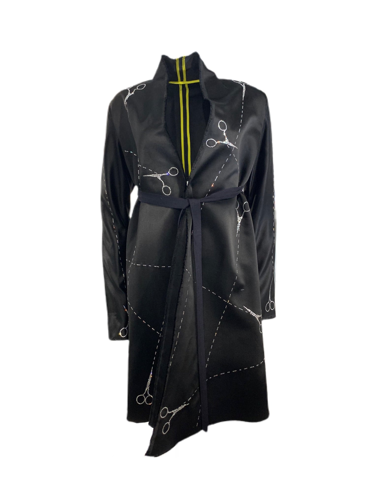 'CUT UP SCISSORS' VINTAGE JENNIFER GEORGE NYC COAT - COATS - Libertine