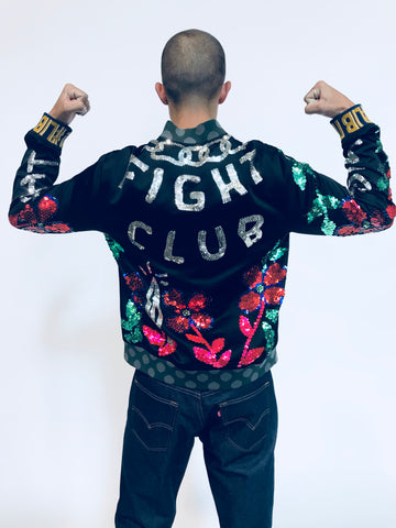 """MIGHTY FIGHTY"" BOMBER JACKET"