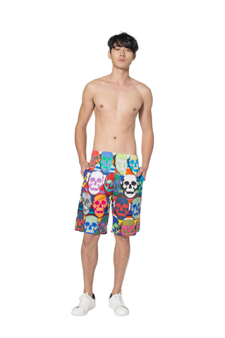 """OG SKULLS"" COTTON SHORT - Men's Bottom's - Libertine"