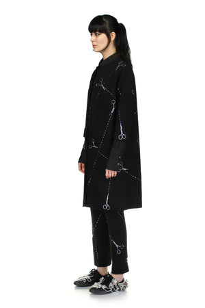 'Cut up scissors' Duster Coat - Spring 2021 - Libertine
