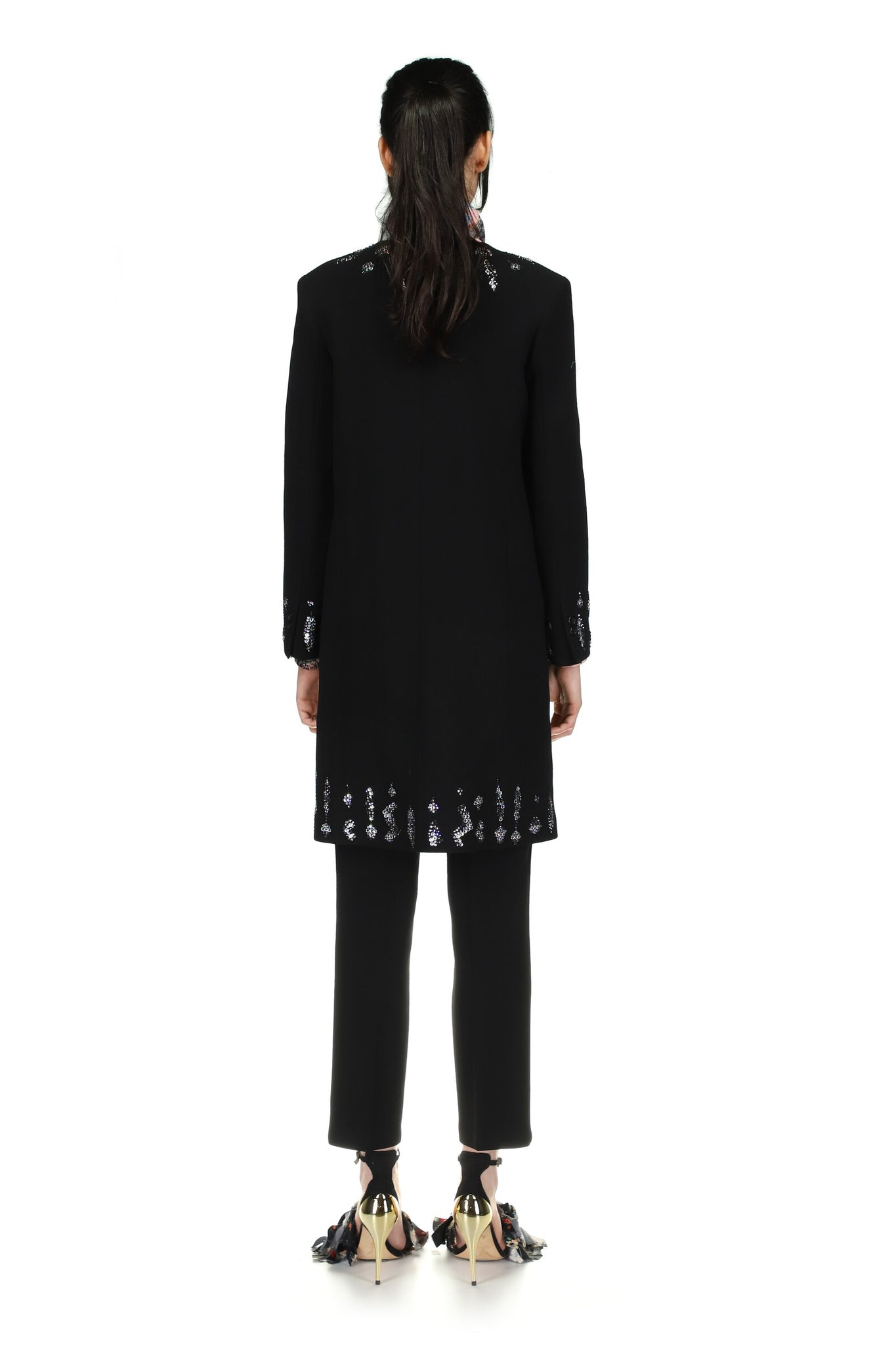'Hand and Hand' V-Neck Coat - Spring 2021 - Libertine