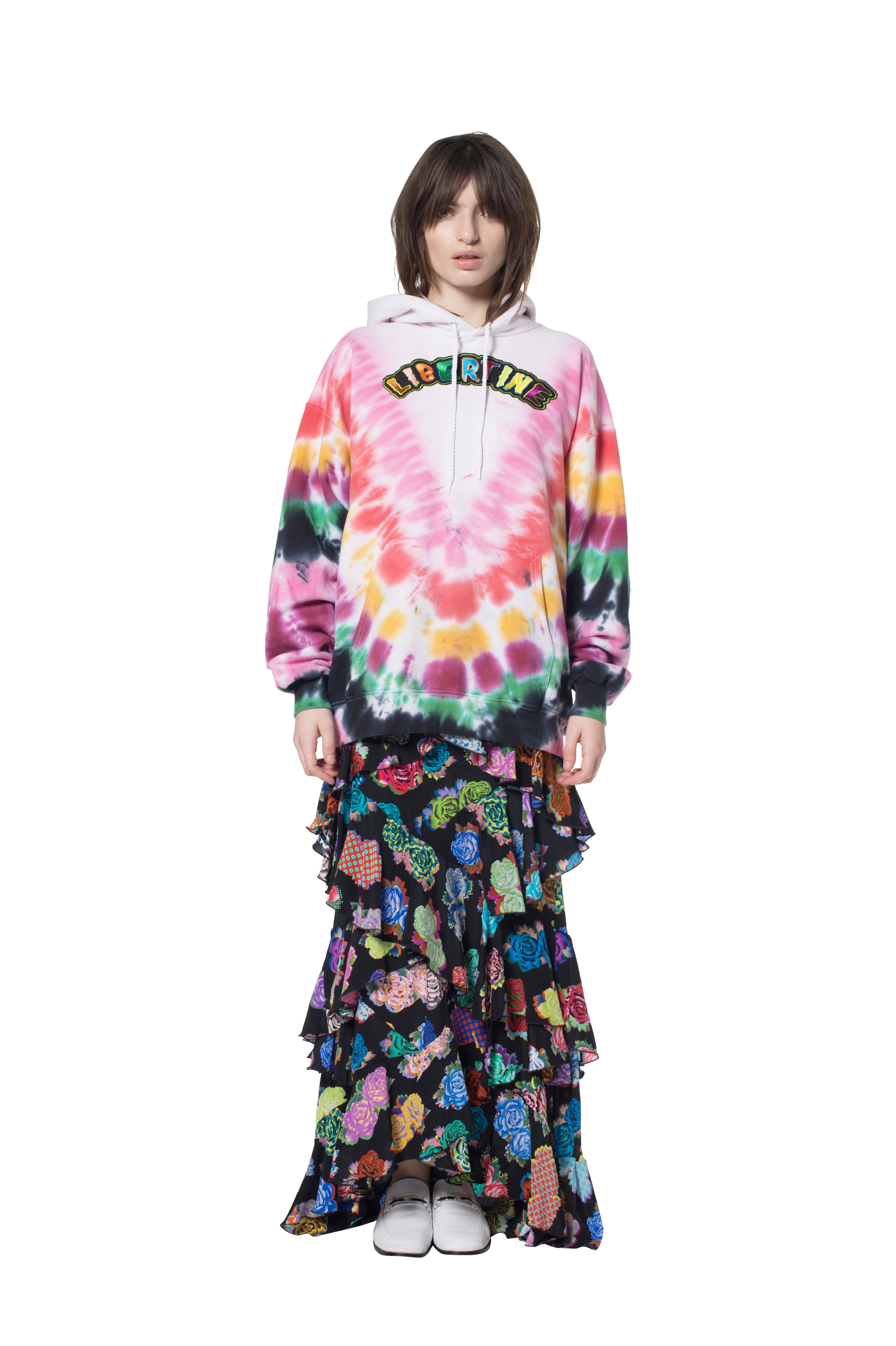 TIE DYE HOODED SWEATSHIRT - Unisex Sweats - Libertine