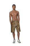 """VELVET LEOPARDO"" SHORTS"